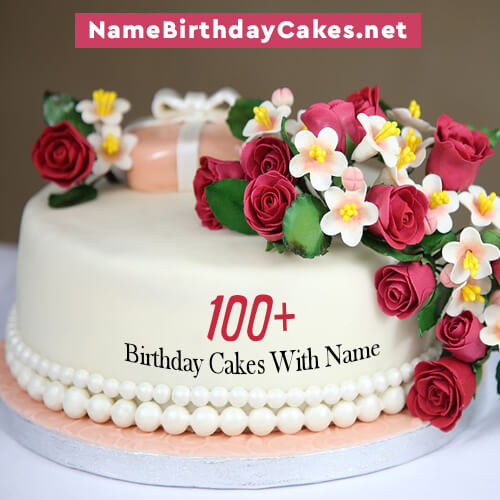 Name Birthday Cakes
