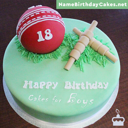 Birthday Cakes For Boys With Name