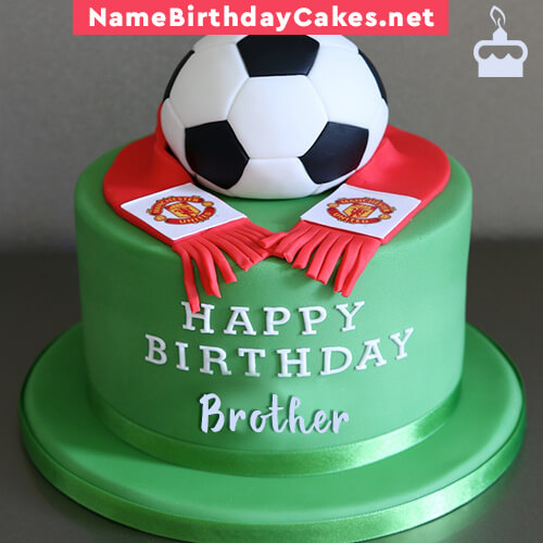 Cake Images With Name For Brother : Happy Birthday Cakes for Brother With Name