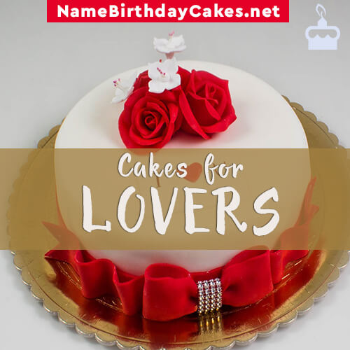 Happy Birthday Cakes for Lover With Name