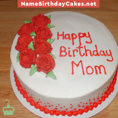 happy birthday cakes for mother with name