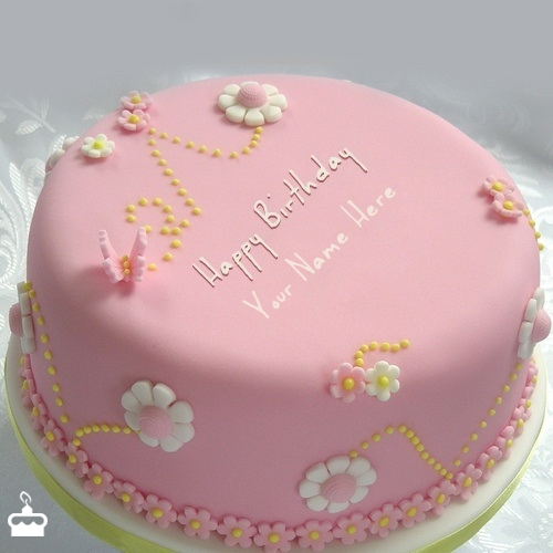 Name Pix Birthday Cake Beautiful : Happy Birthday Pink Cake Photos www.pixshark.com ...