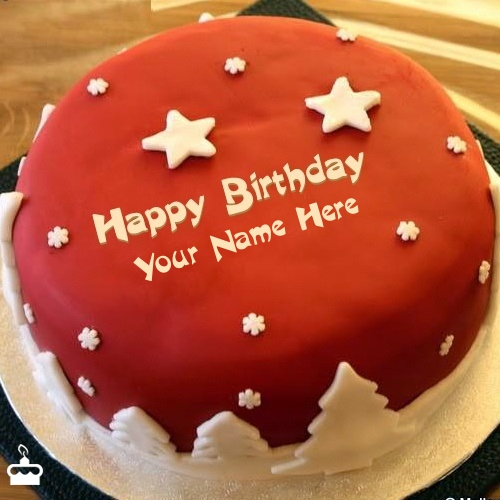 Cool Birthday Cake With Name