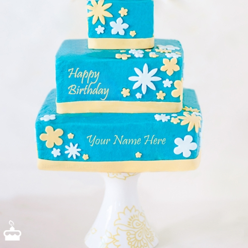 Write Name On Cake Cool Happy Birthday With
