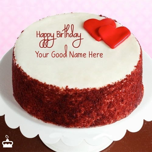 Birthday Cake Images With Name Khushbu : Happy Birthday Cake With Name