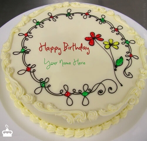 Birthday Cake Images With Name Vijay : Best Ever Happy Birthday Cakes Images With Name