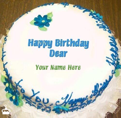 Makeup Birthday Cakes With Name Saubhaya Makeup